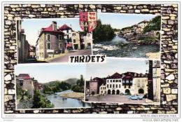 D64  TARDETS  La Rue Principale, Gave De Maul?on- La Place Centrale  ..... - Autres Communes