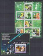 P154. Comoro - MNH - Nature - Animals - Birds - Charles Darwin - Andere