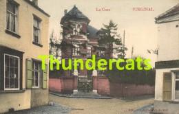 CPA VIRGINAL LA CURE CARTE COLORISEE - Ittre