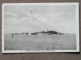 MALAMOCCO - 1948 - ISOLA POVEGLIA    - -   ---BELLA  - - Venezia (Venice)