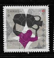 CANADA, 2011,USED # 2459,  ASTROLOGY,  SIGNS OD ZODIAC  Aquarius - 1952-.... Règne D'Elizabeth II