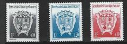 """TAAF YT 163 171 172 """" Armoiries """" 1992/3 Neuf** - Neufs"""