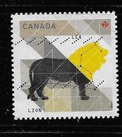 CANADA, 2011,USED # 2453,  ASTROLOGY,  SIGNS OD ZODIAC  LEO - 1952-.... Règne D'Elizabeth II