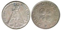 05264 GETTONE TOKEN JETON FICHA AUSTRIA GLUCKS GROSCHEN HEILIGE MARIA - Tokens & Medals