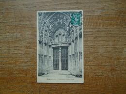 Gisors , Cathédrale , Portail Nord - Gisors