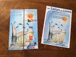 Marque Page Duo Salon Du Livre - Marque-Pages