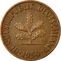 Monnaie, République Fédérale Allemande, 2 Pfennig, 1950, Karlsruhe, TB+ - [ 7] 1949-… : FRG - Fed. Rep. Germany