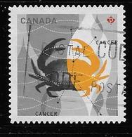 CANADA, 2011,USED # 2452,  ASTROLOGY,  SIGNS OD ZODIAC  CANCER - 1952-.... Règne D'Elizabeth II