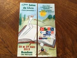 Marque Page Puzzle Salon Du Livre - Bookmarks
