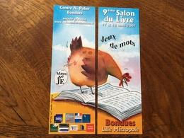 Marque Page Puzzle Salon Du Livre Poule - Bookmarks