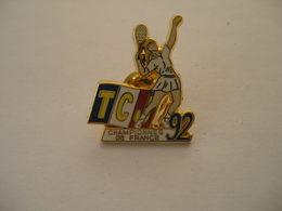 Tennis TCJ Championnes De France 92 - Tennis