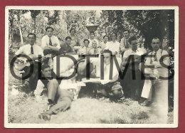PORTUGAL - BARCELOS - LOTE 2 PCS. - UM ALMOÇO - 1930 REAL PHOTO - Photographs