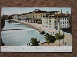TREVISO -1903  - RIVIERA REGINA MARGHERITA   -  FP  - - -   ---BELLISSIMA  - - Treviso