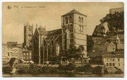 """CPA - Carte Postale - Belgique - Huy - La Collégiale Et Le """" Rondia """" - 1925 ( SV5585 ) - Huy"""