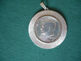 Silber-Münz-Anhänger - Half-Dollar (654) - Anhänger