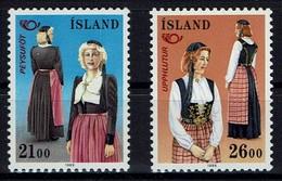Island 1989 - Volkstrachten - MiNr 699-700 - Kostüme