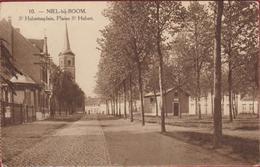 Niel Bij Boom Sint St Hubertusplein Plaine St Hubert ZELDZAAM 1923 - Niel