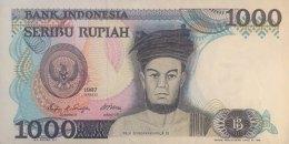 Indonesia 1.000 Rupiah, P-124 (1987) - UNC - Indonesien