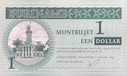 Suriname 1 Dollar, P-155 (2004) - UNC - Surinam