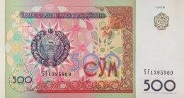 Uzbekistan 500 Som, P-81 (1999) - UNC - Ouzbékistan