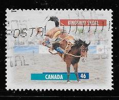 CANADA 1999, USED, 1796,  CANADIANS HORSES-  CHEVAUX CANADIENS, - 1952-.... Règne D'Elizabeth II