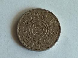 UK 2 Shillings 1963 - 1902-1971 : Monnaies Post-Victoriennes