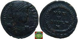 Roman Empire - AE3 Of Jovian (363-364 AD) ,VOT V MVLT X - 7. L'Empire Chrétien (307 à 363)