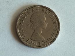 UK 2 Shillings 1966 - 1902-1971 : Monnaies Post-Victoriennes
