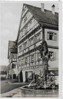 AK 0035  Wiesensteig - Marktbrunnen Mit Spital / Verlag Schöning & Co Ca. Um 1930 - Göppingen