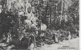 AK 0034  Komotau - Jahn-Denkmal Im Stadtpark Um 1919 - Tschechische Republik