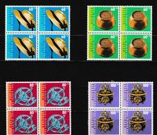 Zwitserland Kleine Verzameling 1994 Nr 1464/67 ** In Blok Van 4 St, Zeer Mooi Lot K856 - Collections (without Album)