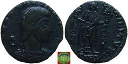 Roman Empire - AE2 Maiorina Of Constantius Gallus As Caesar (351–354 AD) CONCORDIA MILITVM, Scarce - 7. L'Empire Chrétien (307 à 363)