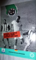 Carte Postale (Coupe Du Monde 1998 - Football) RATP - Animation Allemagne (Gateau) - Soccer