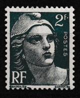 1945-47 Variété Sur Y&T 713 Point Après F N** - Curiosities: 1945-49 Mint/hinged
