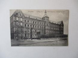 ENGHIEN.- COLLEGE DE SAINT-AUGUSTIN.CONSTRUIT EN 1880 - Enghien - Edingen