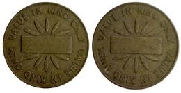05271 GETTONE TOKEN JETON RUFFLER & WALKER VALUE IN KIND ONLY - Unclassified