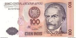 PÉROU 100 INTIS 1987 P-133 NEUF [PE133] - Pérou