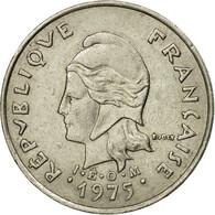 Monnaie, French Polynesia, 10 Francs, 1975, Paris, TB+, Nickel, KM:8 - French Polynesia