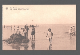 De Panne / La Panne - Kinderen Aan De Zee - Geanimeerd - Enfants / Kinder / Children - De Panne