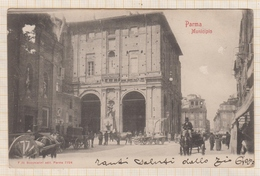 8AK2940  ITALIE PARMA MUNICIPIO TIMBRE 1903  2 SCANS - Parma