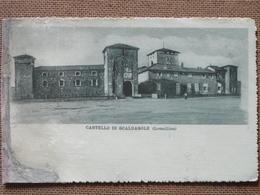 CASTELLO DI  SCALDASOLE  - LOMELLINA -1924    FP  -  -   -- - Pavia