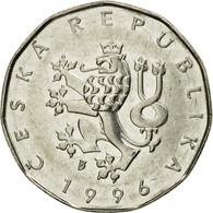 Monnaie, République Tchèque, 2 Koruny, 1996, TTB, Nickel Plated Steel, KM:9 - Tchéquie