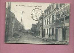 CPA -  Albert -(Somme ) - 1925 - Rue De Doullens - Albert