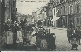 Pont L'Abbé : Rue Kéréon. Très Animée. - Pont L'Abbe