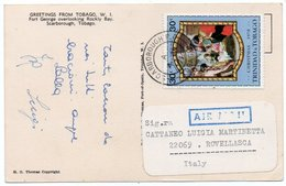 TRINIDAD & TOBAGO-GREETINGS FROM TOBAGO-FORT GEORGE OVERLOOKING ROCKLY BAY-SCARBOROUGH / THEMATIC STAMP-CHRISTMAS - Trinidad