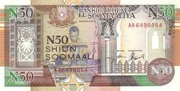 SOMALIA 50 N SHILLINGS 1991 P-R2 UNC  [SO314a] - Somalie