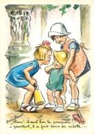 GERMAINE BOURET  EDITION MD SERIE  N°5039 4/4 HUM IL SENT BON  LE POMPIER - Bouret, Germaine