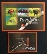 Tuvalu 2012** Klb.1865-68 + Bl.193. Beetles [11;16/12;224] - Insekten