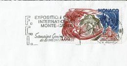 """1978 - Monaco - Oblitération Sécap """"EXPOSITION CANINE INTERNATIONALE MONTE-CARLO"""" Sur Tp """"Maitre Zacharius"""" N°1129 - Machine Stamps (ATM)"""