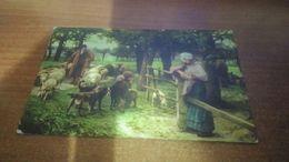 Cartolina: Fp Pastore E Gregge Di Pecore 1920 Viaggiata (a637) - Cartoline